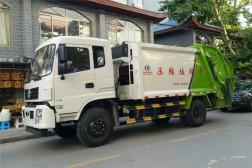 (10方)东风专底压缩垃圾车