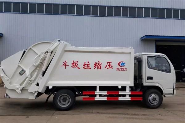 (5方)东风多利卡D6压缩垃圾车