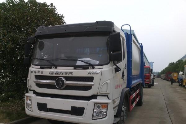 (10-12方)陕汽轩德压缩垃圾车