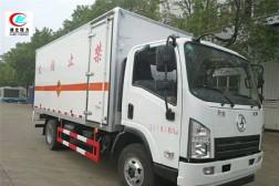陕汽轩德5.1米易燃气体厢式运输车【二类】