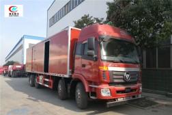 欧曼前四后六9.45米易燃液体厢式运输车【三类】