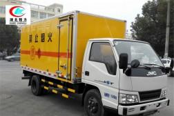 江铃4.2米易燃液体厢式运输车【三类 蓝牌】