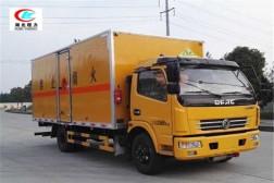 东风大多利卡5.1米易燃液体厢式运输车【三类】