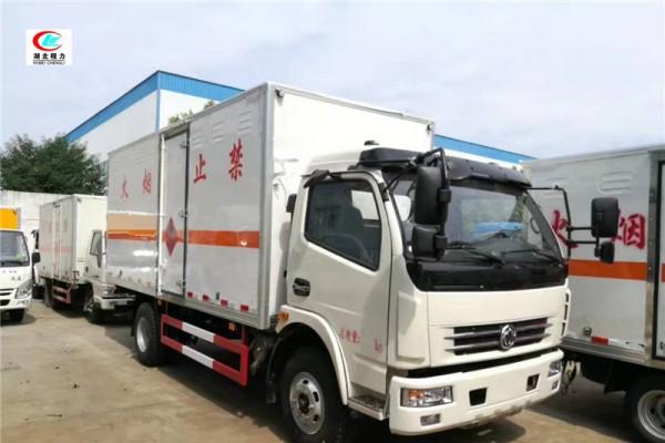 东风5.1米易燃气体厢式运输车【二类】