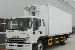 (厢长7.6米)江淮帅铃W威斯达冷藏车