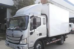 (厢长3.7米)福田欧马可S3一排半冷藏车
