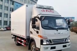 (厢长4.1米)江淮骏铃V6冷藏车