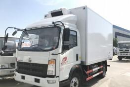 (厢长4.0米)重汽豪沃冷藏车