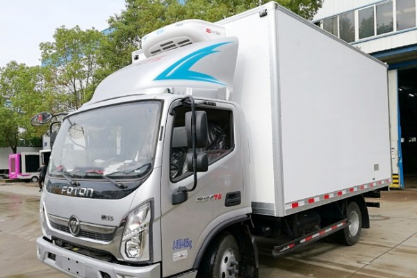 (厢长4.1米)福田奥铃CTS冷藏车
