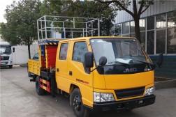 (8-12米 蓝牌)江铃升降平台式高空作业车