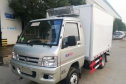 (厢长2.9米)福田驭菱后双轮冷藏车