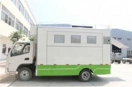 (厢长4.2米)东风多利卡餐车