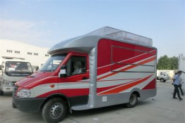 (厢长4.1米)依维柯房车型餐车