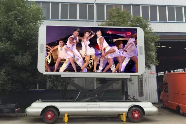 牵引式LED广告宣传车