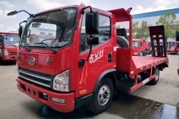 4X2蓝牌【6-10吨】平板运输车