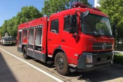东风天锦7吨水罐消防车