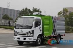 国六·东风多利卡【1.5方水 4方尘】智能扫路车